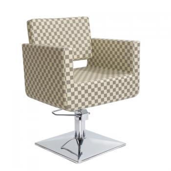 Парикмахерское кресло VT6297 (Бежевое)