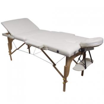 Массажный стол складной Prestige Cream, Life Gear