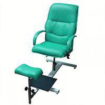 Кресло педикюрное на стеллаже