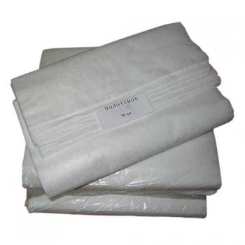 Полотенце нарезное из спанлейса-сетки, 50х80 см (пл.50), 100 шт. | Venko