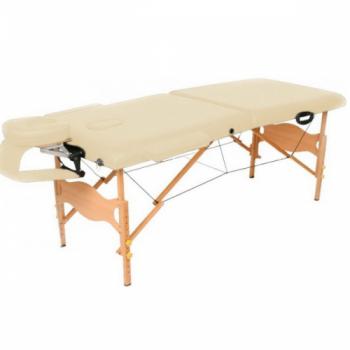 Массажный стол складной Lotos Plus Yellow brown | Venko
