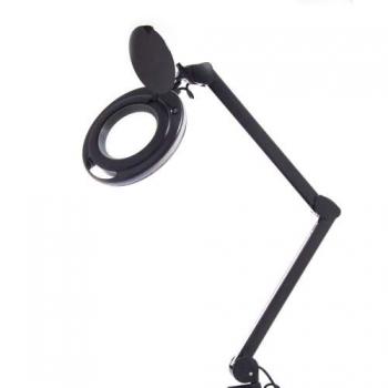 Лампа-лупа 6017 LED 3D дополнительная сменная линза (Черная) | Venko