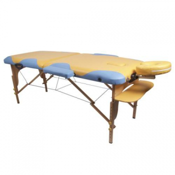 Массажный стол складной Miracle Plus Yellow/blue Life gear | Venko