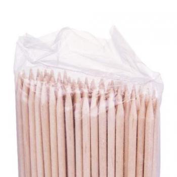 Деревянные палочки для маникюра 178*3.8 мм YM-519 100шт. | Venko