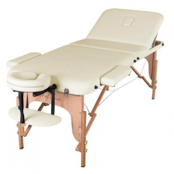 Массажный стол складной ArtOfChoise Den Comfort (Светло-бежевый) | Venko