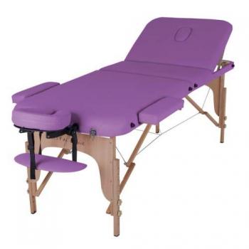 Массажный стол складной ArtOfChoise Den Comfort (Фиолетовый) | Venko