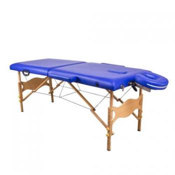 Масажний стіл складний Lotos Navy Blue, Life Gear | Venko