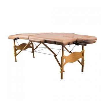 Массажный стол складной Lotos yellowish brown