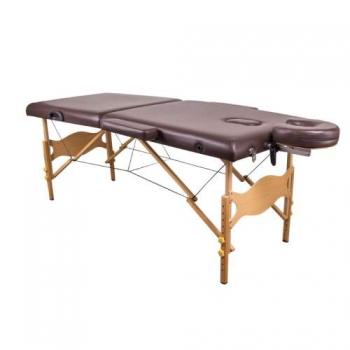 Массажный стол складной Lotos Brown | Venko