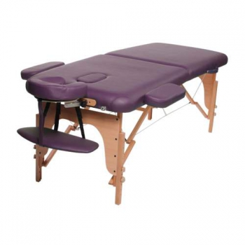 Массажный стол складной Classic Maroon Purple, Life Gear | Venko