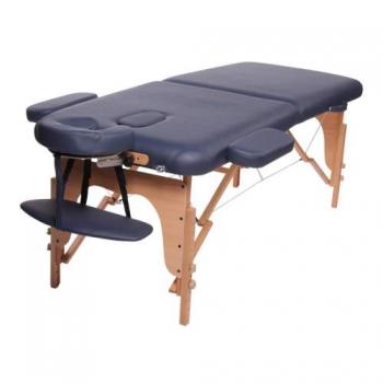 Массажный стол складной Classic Navy Blue, Life Gear | Venko