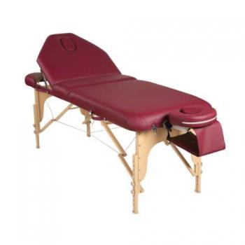 Массажный стол складной Elegance burgundy | Venko