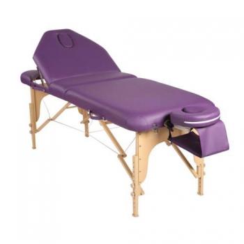 Массажный стол складной Elegance Purple | Venko