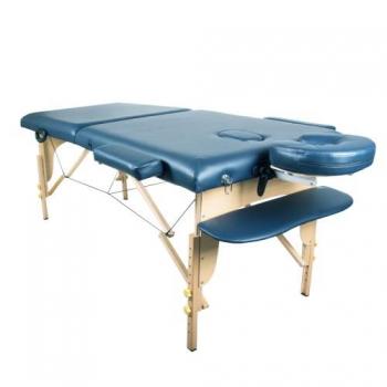 Массажный стол складной Miracle Light blue, Life Gear | Venko