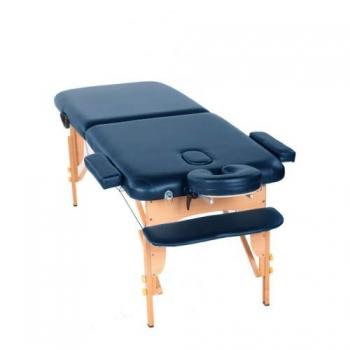 Массажный стол складной Miracle Plus Navy Blue, Life Gear