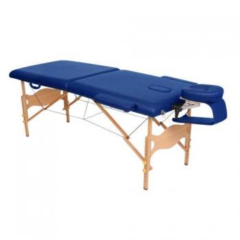 Массажный стол складной Lotos Light Blue, Life Gear