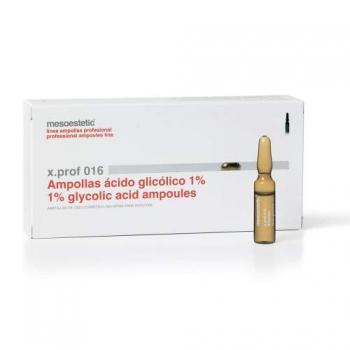 X.Prof 016 Препарат для лечения акне, Гликолевая кислота -  acido glicoliko 1%, 1*2 мл