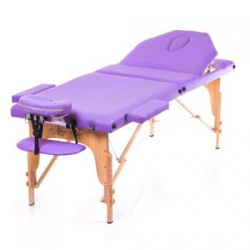 Массажный стол складной Expert New Tec (фиолетовый) | Venko
