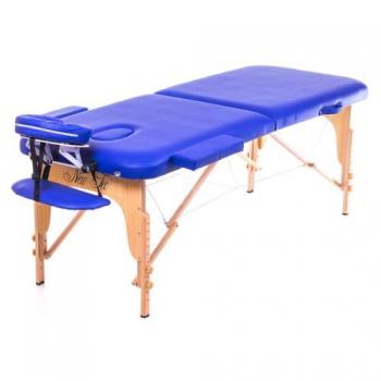 Массажный стол складной Aspect New Tec (темно-синий)