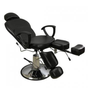 Педикюрное кресло на гидравлике S346А (черный)