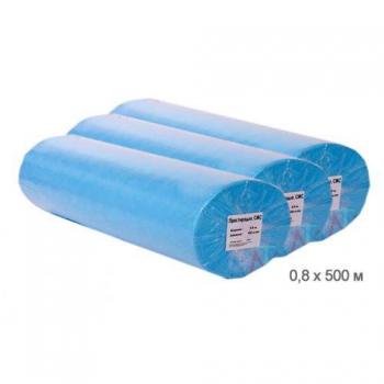 Простыни в рулоне одноразовые 80см х 500м (Флизелин)
