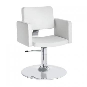 Кресло парикмахерское Olimp на пневматике хром | Venko