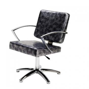 Кресло парикмахерское DIAN на пневматике хром