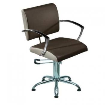Кресло парикмахерское STELLA на пневматике хром