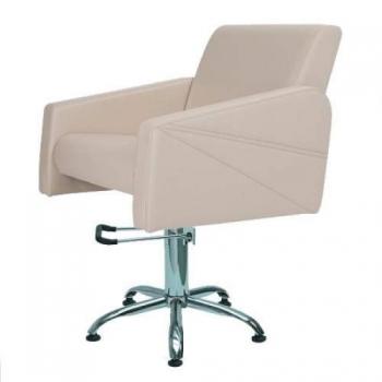 Кресло парикмахерское Julieta на пневматике хром | Venko
