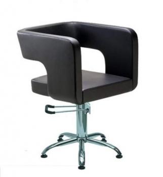 Кресло парикмахерское MASINA на пневматике хром