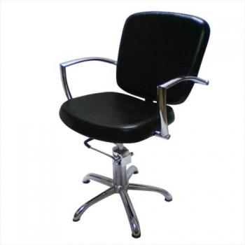 Кресло парикмахерское Andrea на пневматике хром | Venko