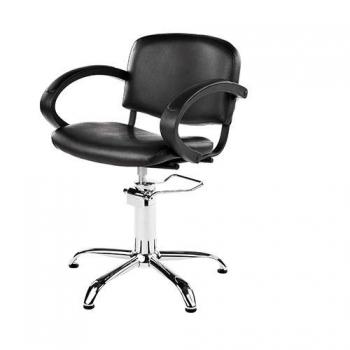 Кресло парикмахерское Eliza на пневматике хром