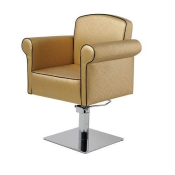 Кресло парикмахерское Art Deco на гидравлике хром | Venko