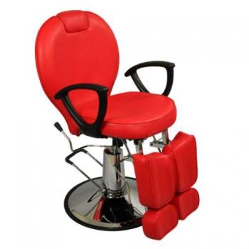 Педикюрное кресло на гидравлике S346 (красный) | Venko