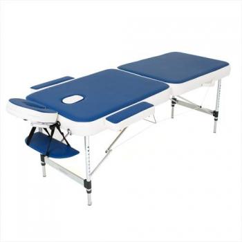 Складной массажный стол Holiday RelaxLine, синий/белый | Venko