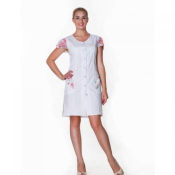 Халат медицинский Анжелика, размер 50-58 | Venko