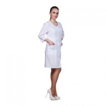 Халат медицинский базовая модель, размер 44 | Venko
