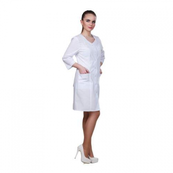 Халат медицинский базовая модель, размер 46 | Venko