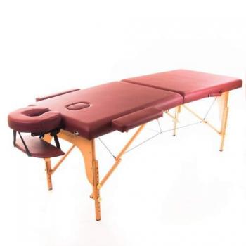 Масажный стол RelaxLine Lagune  бургундия | Venko