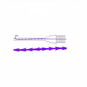 Мезонить Cog Master Gear, 19G, 100 mm/185 mm, 2-0 | Venko