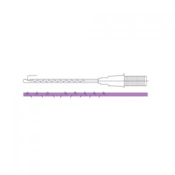 Мезонить Cog Pro II Cannula R, 23G, 70 mm/140 mm, 4-0 | Venko