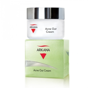 Крем для жирной комбинированной кожи с признаками акне Arkana Acne Out Cream 50мл   Venko