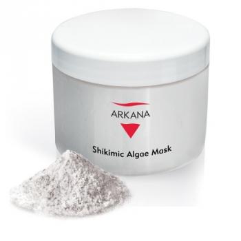 Маска с шикимовой кислотой для комбинированной и проблемной кожи Arkana Shikimic Algae Mask 500мл