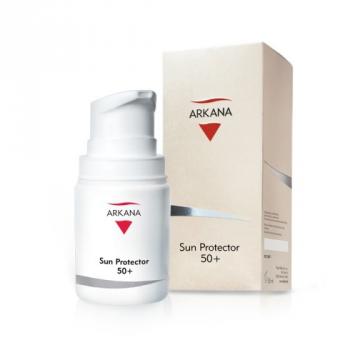 Тонирующий солнцезащитный крем с UVA и UVB фильтрами 50+ Arkana Sun Protector 50+ , 50мл | Venko