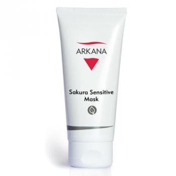 Успокаивающая сосудосужающая маска с экстрактом сакуры Arkana Sakura Sensitive Mask 200мл