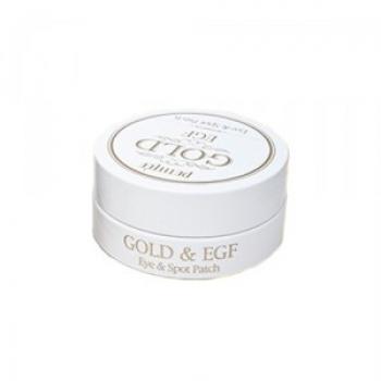 Гидрогелевые патчи для глаз с золотом, PETITFEE Gold & EGF Eye & Spot Patch 60 + 30 шт | Venko