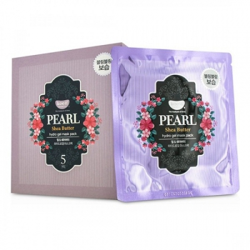 Гидрогелевая маска для лица с жемчугом,KOELF Pearl & Shea Butter Hydro Gel Mask 30 г | Venko