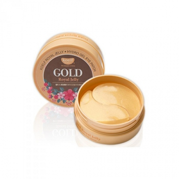 Гидрогелевые патчи для глаз с золотом,KOELF Gold & Royal Jelly Eye Patch 60 шт | Venko