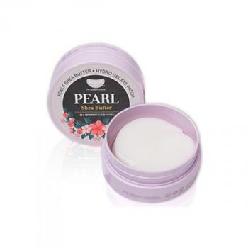 Гидрогелевые патчи для глаз с жемчугом, KOELF Pearl & Shea Butter Eye Patch 60 шт | Venko