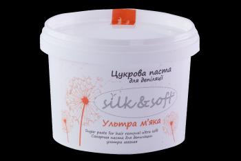 Ультрамягкая сахарная паста Silk & Soft, 500 г | Venko
